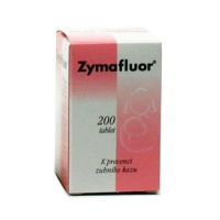 ZYMAFLUOR 1/4 MG  200X0.25MG Tablety
